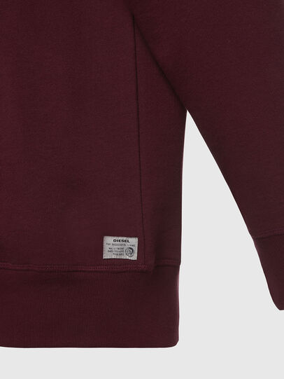 Diesel - UMLT-WILLY, Bordeaux - Pull Cotton - Image 4