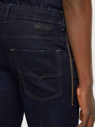 Diesel - D-KROOSHORT JOGGJEANS, Bleu Foncé - Shorts - Image 3