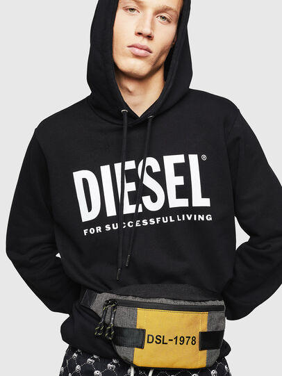 Diesel - FELTRE, Noir/Jaune - Sacs ceinture - Image 6