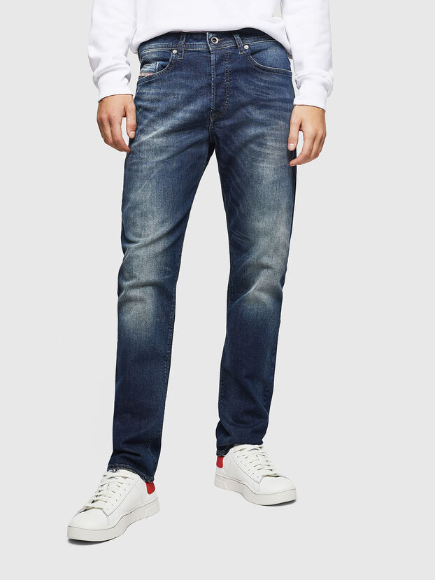 Buster 0853R, Bleu Foncé - Jeans