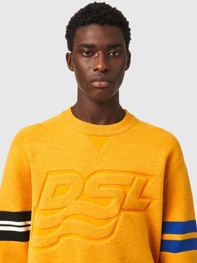 Diesel - K-HOUSTON, Orange - Sweaters - Image 3