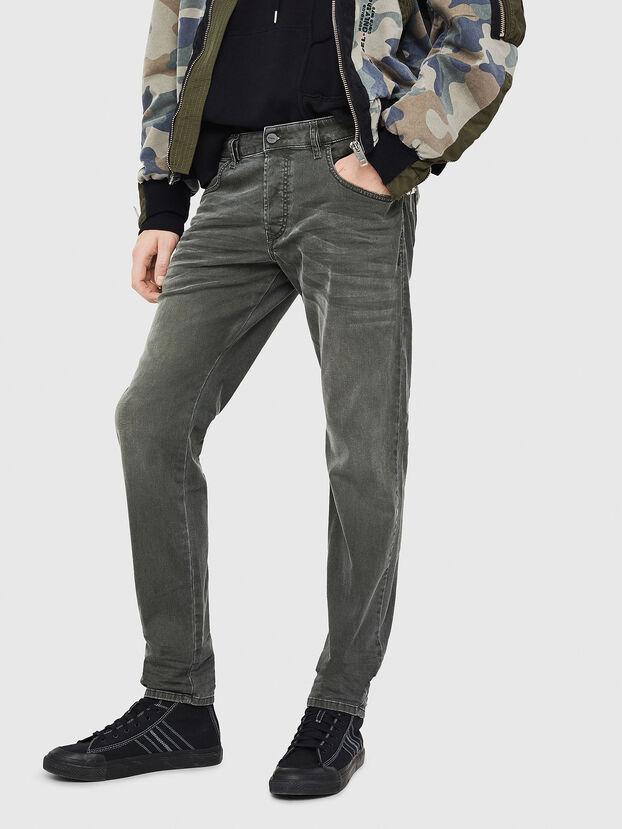 D-Bazer 0699P, Vert Foncé - Jeans