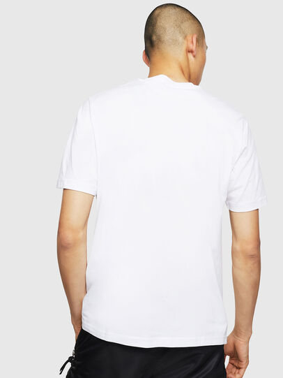 Diesel - T-JUST-LOGO, Blanc - T-Shirts - Image 2
