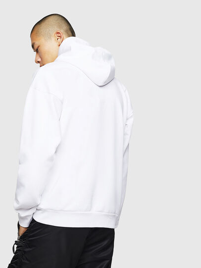 Diesel - S-DIVISION-LOGO, Blanc - Pull Cotton - Image 2