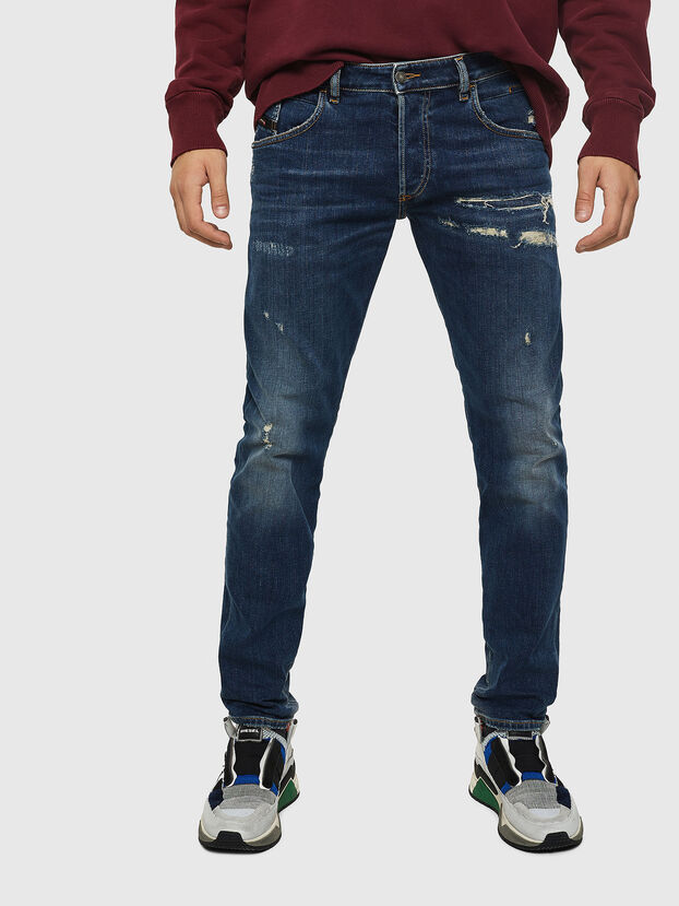 D-Bazer 0890R, Bleu Foncé - Jeans