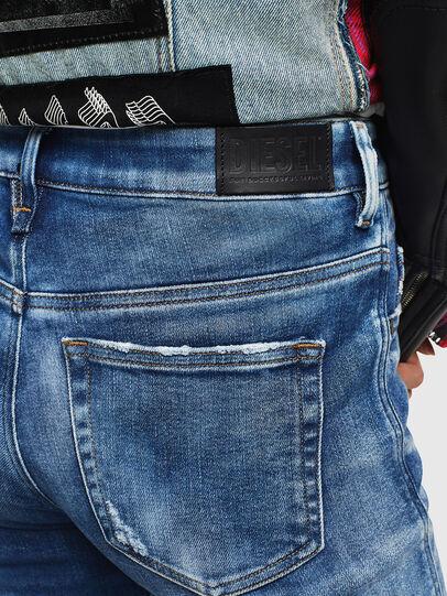 Diesel - Slandy High 0096J, Bleu moyen - Jeans - Image 5