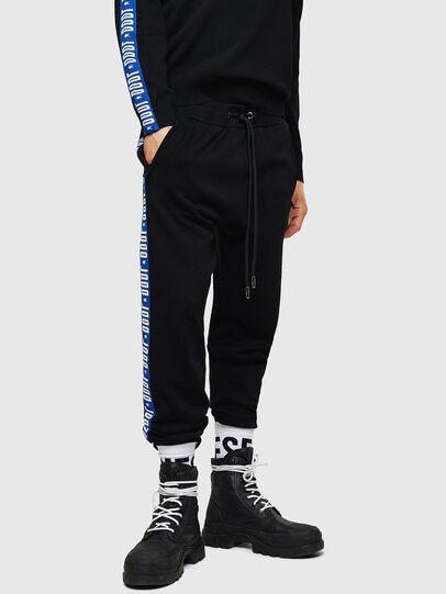 Diesel - K-SUIT-B, Noir/Bleu - Pantalons - Image 1