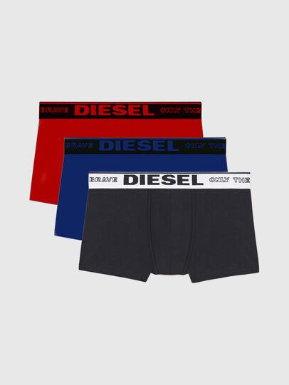 Diesel - UMBX-SEBASTIANTHREEP, Rouge/Bleu - Caleçons boxeurs - Image 1