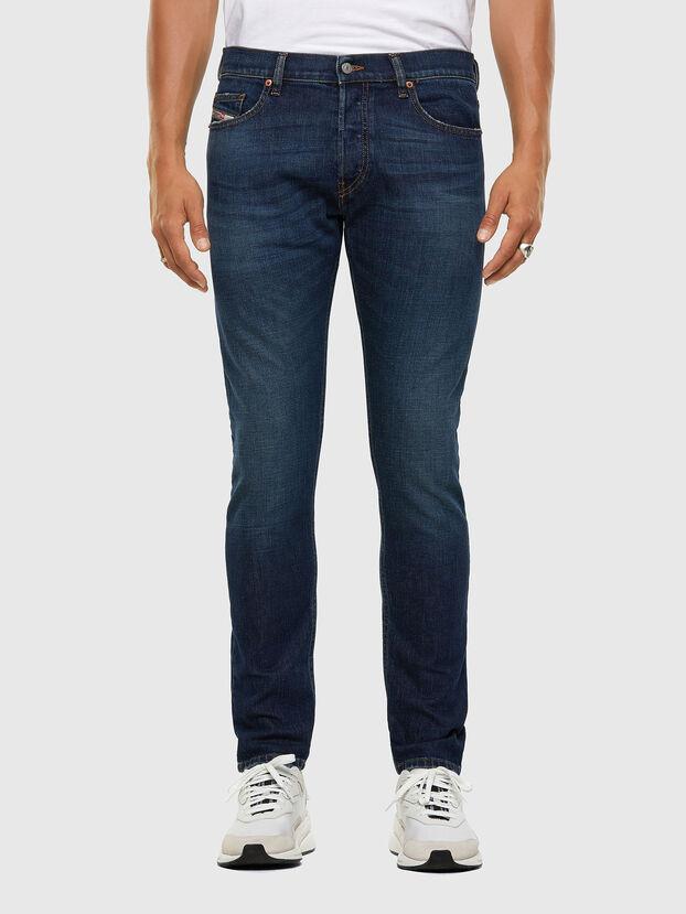 D-Luster 009EL, Bleu Foncé - Jeans