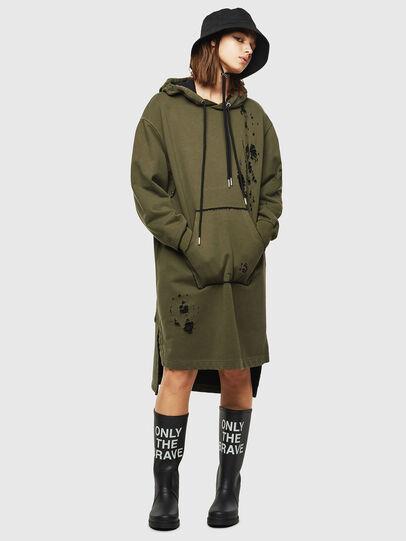 Diesel - D-ILSE-E, Vert Militaire - Robes - Image 1