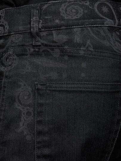 Diesel - D-Strukt 009KT, Black/Dark Grey - Jeans - Image 3