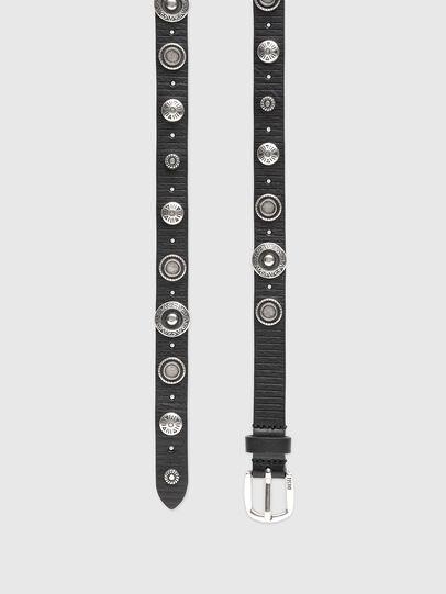 Diesel - B-GAUCHO, Black - Belts - Image 3
