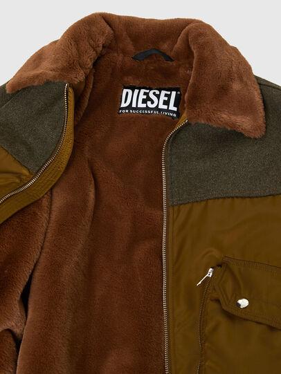 Diesel - W-LOUIS, Vert Foncé - Vestes d'hiver - Image 5