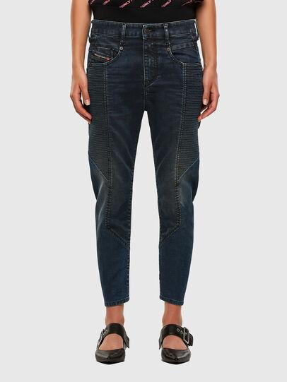 Diesel - Fayza JoggJeans 069PQ, Bleu Foncé - Jeans - Image 1