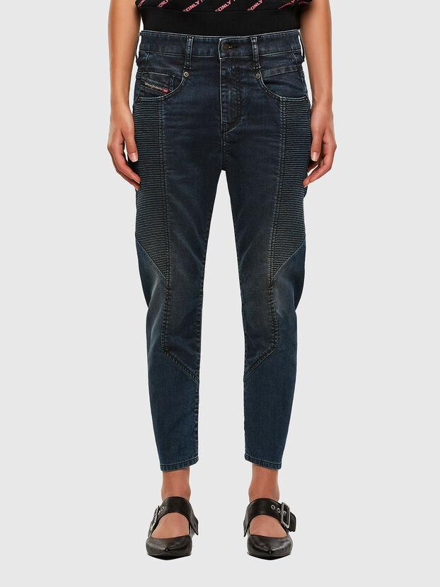 Fayza JoggJeans 069PQ, Bleu Foncé - Jeans