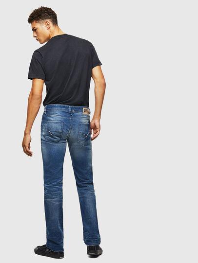 Diesel - Larkee 0090D, Bleu moyen - Jeans - Image 4