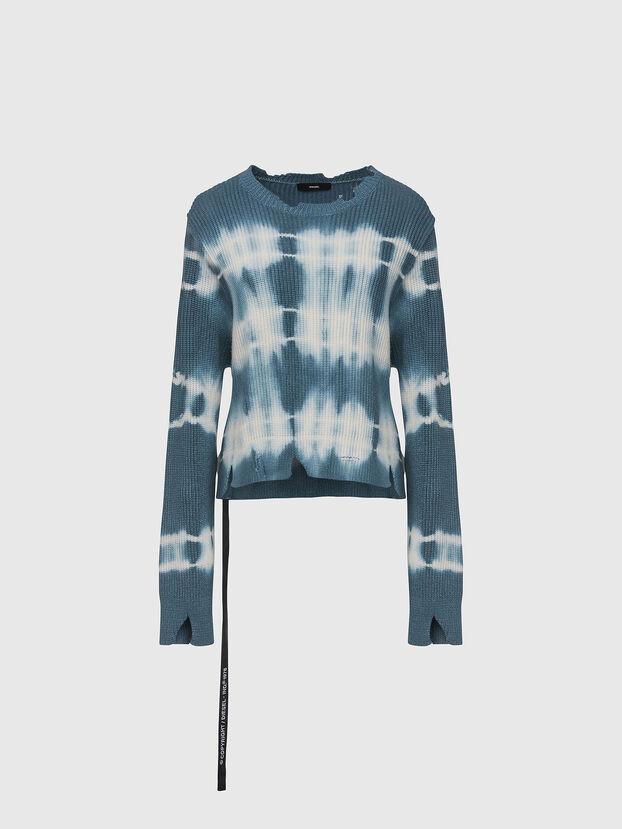 M-JONGE, Green/White - Sweaters