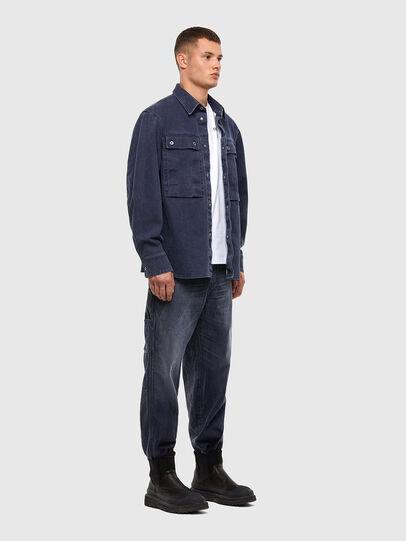 Diesel - D-Franky 009IY, Bleu Foncé - Jeans - Image 6