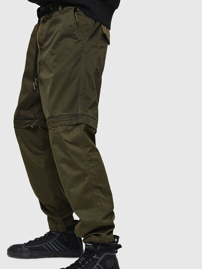 Diesel - P-CASHORT, Vert Militaire - Pantalons - Image 3