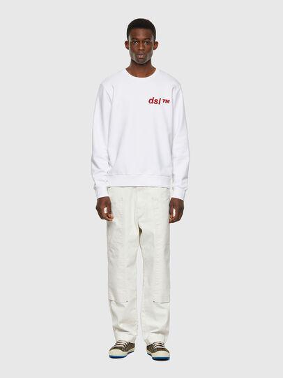 Diesel - S-GIRK-B3, White - Sweatshirts - Image 4