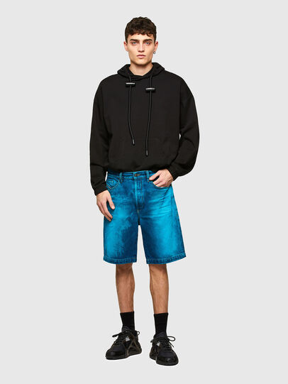 Diesel - D-MACS-SHORT-SP, Bleu - Shorts - Image 5