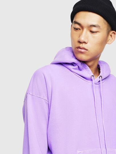 Diesel - S-ALBY-FLUO, Lilas - Pull Cotton - Image 4