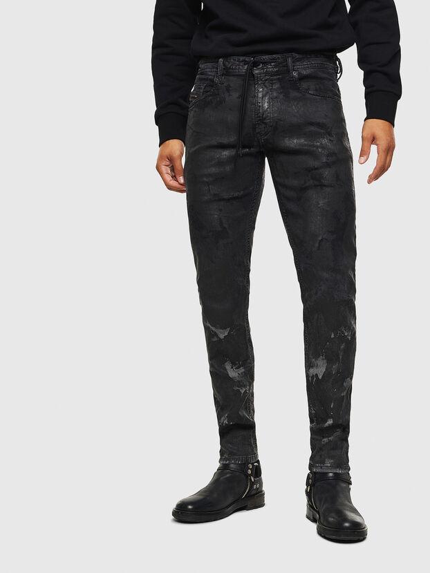 Thommer JoggJeans 084AI, Noir/Gris foncé - Jeans