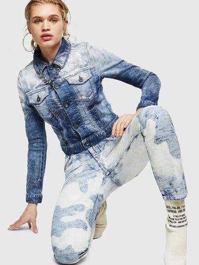 Diesel - D-Rifty 0890P, Bleu Clair - Jeans - Image 4