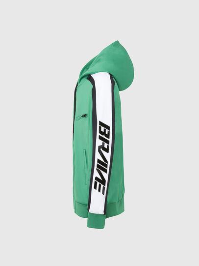 Diesel - S-STEEL, Green - Sweatshirts - Image 3