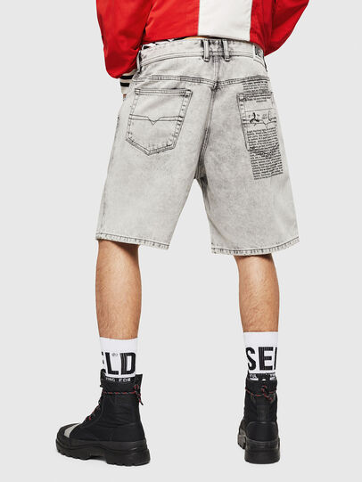 Diesel - D-WILLOH, Gris Clair - Shorts - Image 2