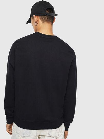 Diesel - S-GIRK-S4, Black - Sweatshirts - Image 2