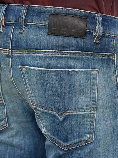 Diesel - Krooley JoggJeans 009NK, Medium Blue - Jeans - Image 4
