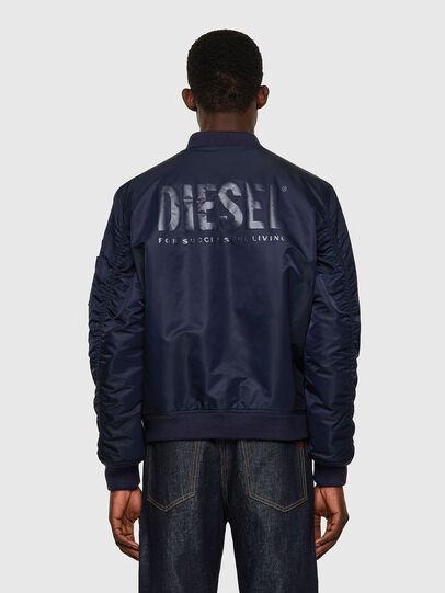 Diesel - J-ROSS-REV-A, Bleu Foncé - Vestes - Image 2