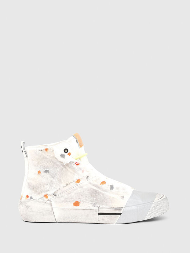 S-DESE SCT, Blanc/Orange - Baskets