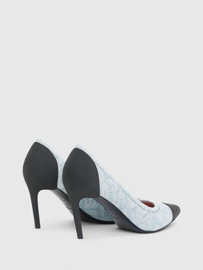 Diesel - D-SLANTY MHT, Bleu Clair - Chaussures À Talon - Image 3