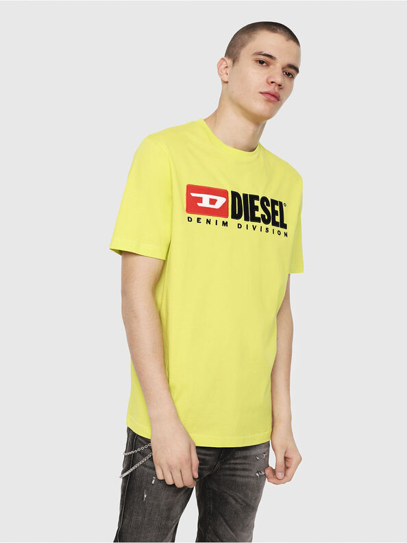 T-JUST-DIVISION, Yellow Fluo - T-Shirts