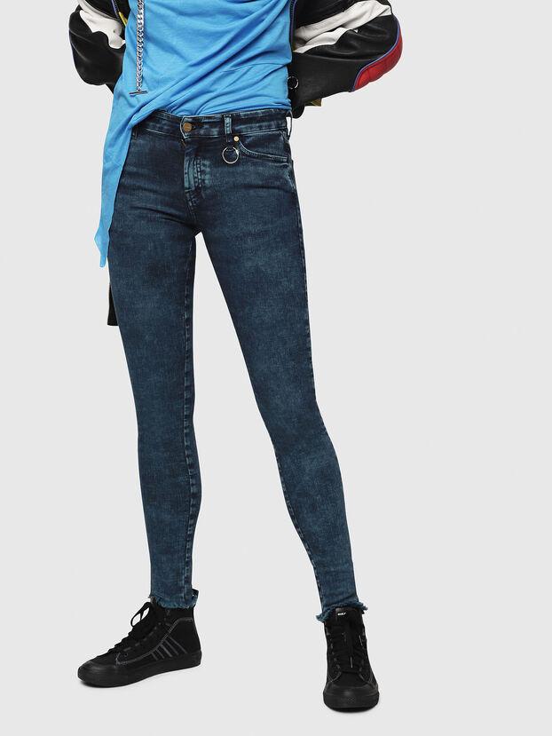 Slandy 069DC, Bleu Foncé - Jeans