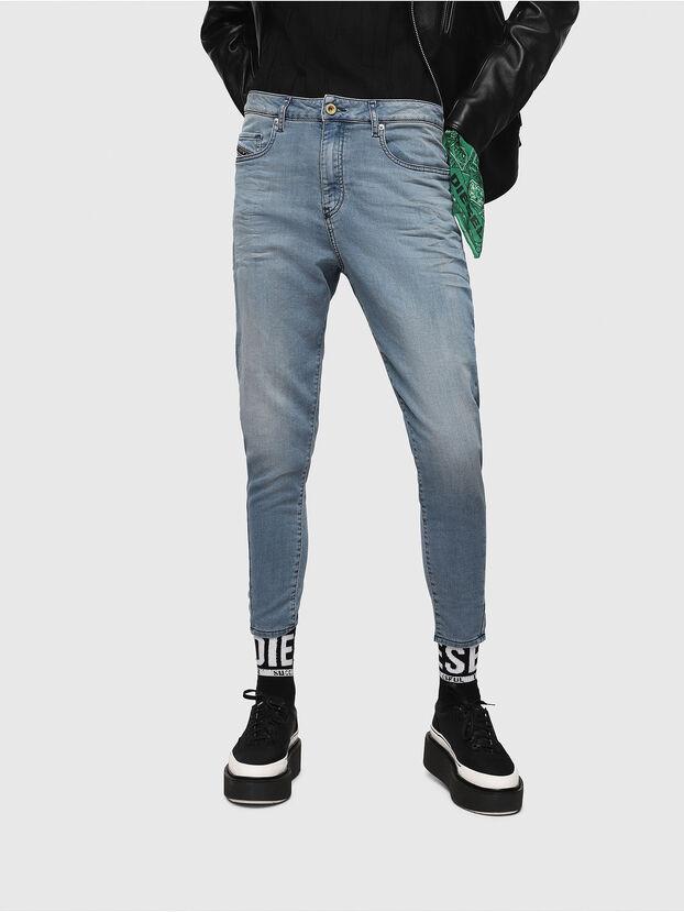 Candys JoggJeans 069FF, Bleu Clair - Jeans