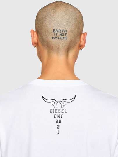 Diesel - CL-T-JUST-O, Blanc - T-Shirts - Image 5
