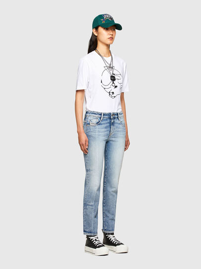 Diesel - CL-T-JUST-O, Blanc - T-Shirts - Image 8