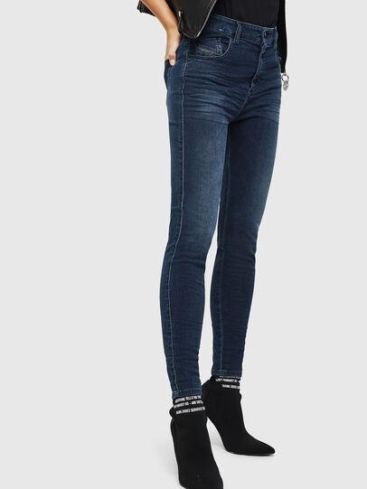 Diesel - Slandy High 084UT, Bleu Foncé - Jeans - Image 4