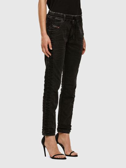 Diesel - Krailey JoggJeans 009FY, Noir/Gris foncé - Jeans - Image 5