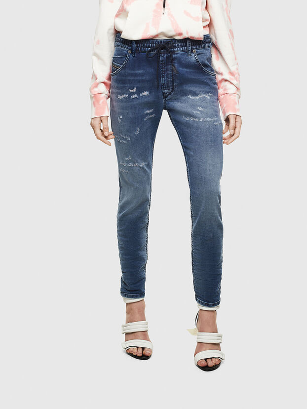 Krailey JoggJeans 069LW, Bleu Foncé - Jeans