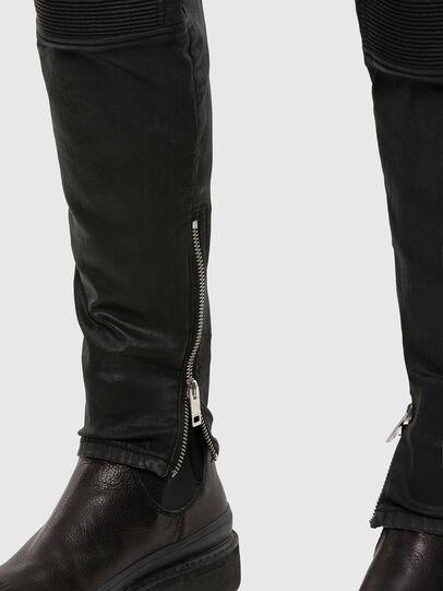Diesel - D-Derrot JoggJeans 069QY, Noir/Gris foncé - Jeans - Image 5