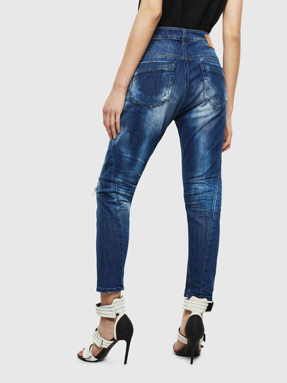 Diesel - Fayza JoggJeans 0099S, Bleu Foncé - Jeans - Image 2