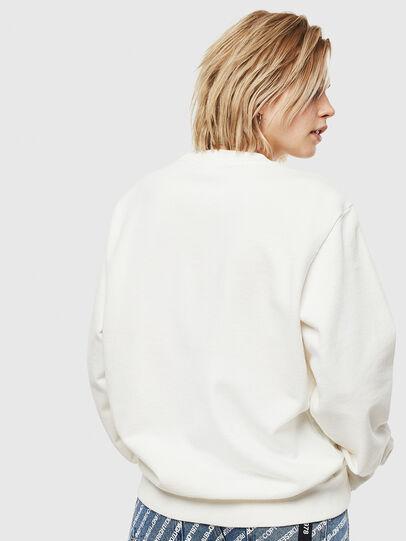 Diesel - S-GIRK-WORK, White - Sweatshirts - Image 4