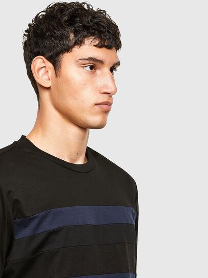 Diesel - T-LOUD, Noir - T-Shirts - Image 4