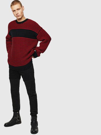 Diesel - K-BALLIS, Red/Black - Sweaters - Image 8