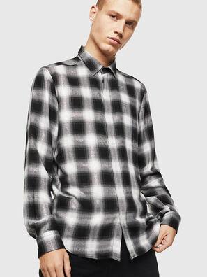 S-MARLENE-C, Noir/Blanc - Chemises