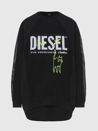 Diesel - M-PORTIA, Noir - Pull Maille - Image 1